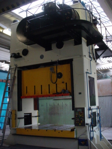 Electric parts of presses and production lines
