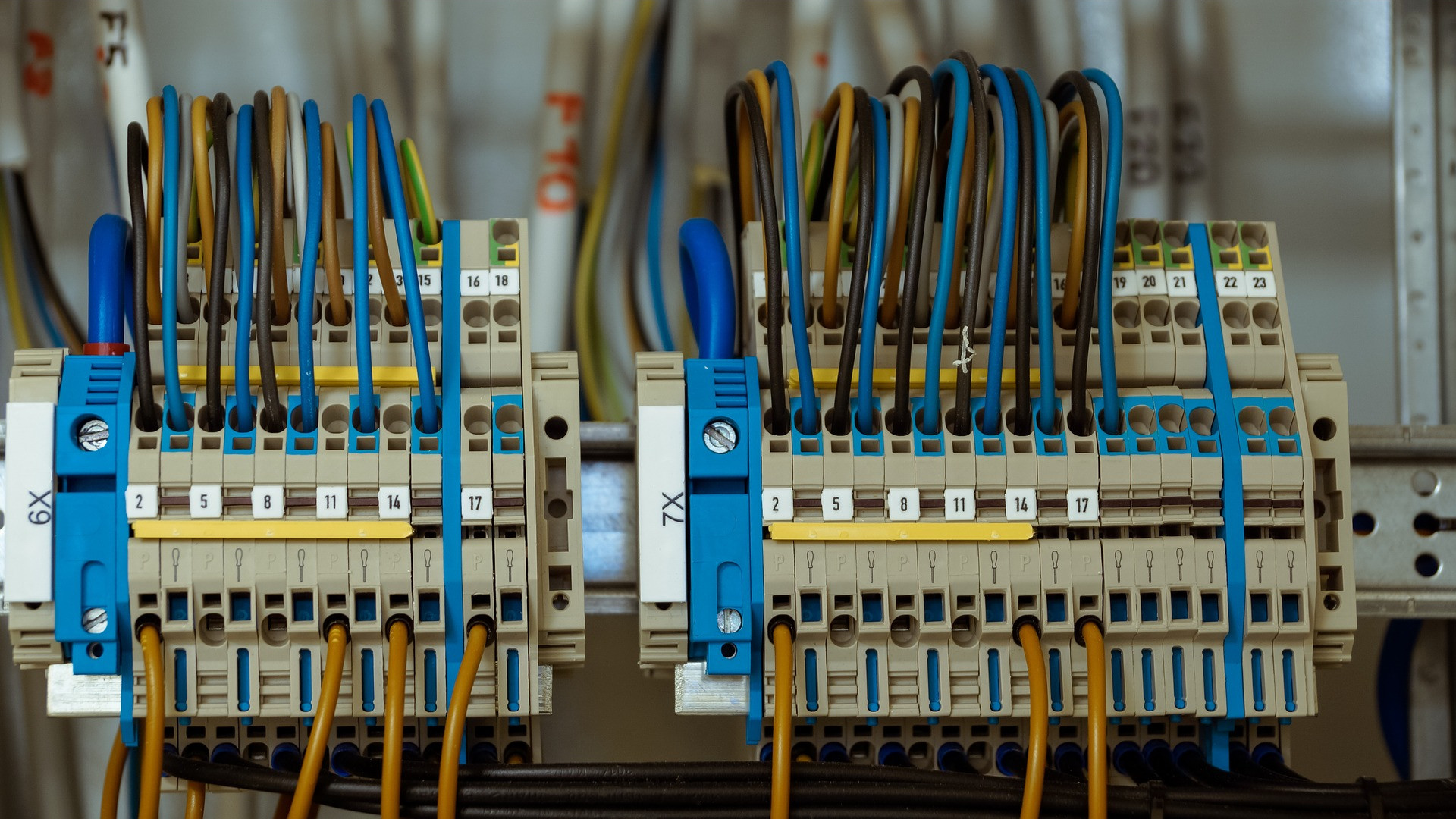 <p>Replacement of electric parts, safety features installation, press control automation.</p>