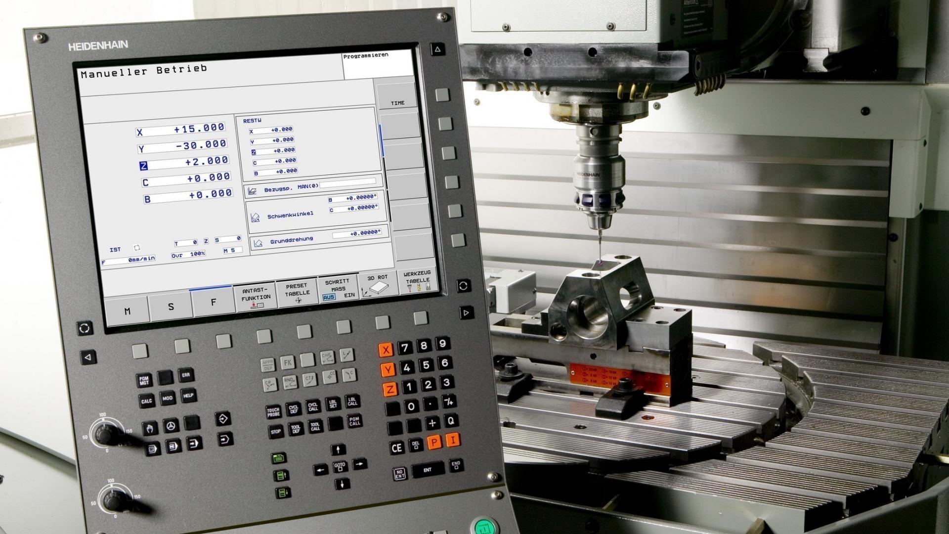 <p>Instalace moderních řídících systémů obráběcích strojů.</p>